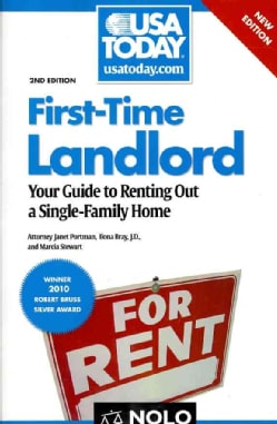 First-Time Landlord: Your Guide to Renting Out a Single-Family Home (Paperback)