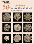 50 Fabulous Crochet Thread Motifs (Paperback)