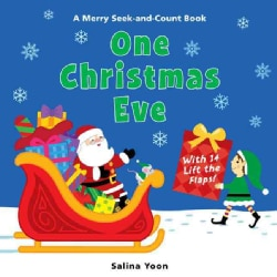 One Christmas Eve: A Merry Seek-and-Count Book (Board book)