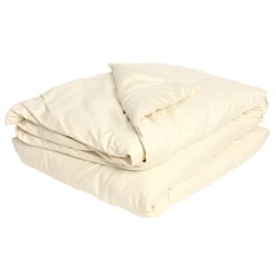 Summer Weight Organic Eco-Valley Wool Twin-size Comforter