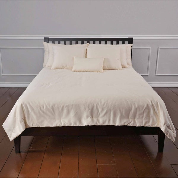 Summer Weight Organic Eco-Valley Wool Comforter (As Is Item)