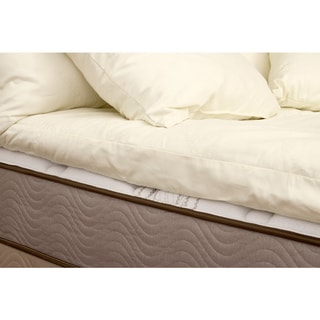 Organic Eco-Valley Wool 3-inch Cal King-size Mattress Topper