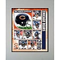2010 Chicago Bears Matted Print