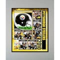 2010 Pittsburgh Steelers Matted Print