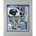 2010 Seattle Seahawks Matted Print