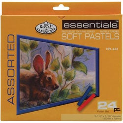 Assorted Soft Pastel 24-piece Set