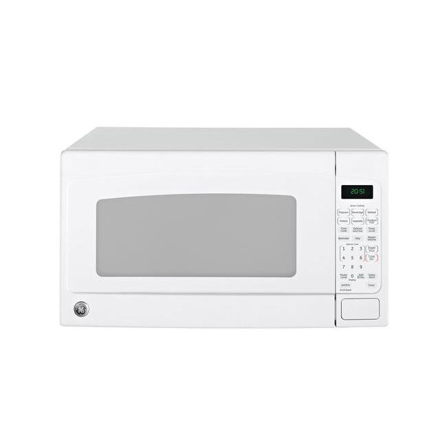 GE JES2051DNWW White 2-cu-ft Countertop Microwave Oven