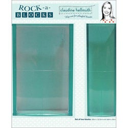 Claudine Hellmuth Rock-A-Blocks Stamping Block Set (Pack of 2)