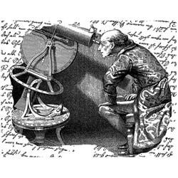 LaBlanche Silcone Astronomer Stamp