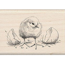 Inkadinkado Chick Rubber Stamp