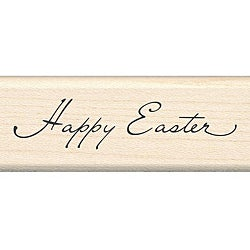 Inkadinkado Happy Easter Rubber Stamp