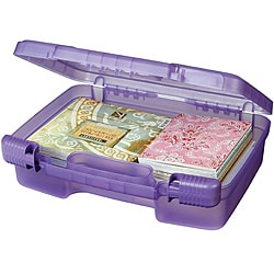Art Bin Translucent Purple Quick View Carrying Case