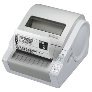 Brother TD4000 Direct Thermal Printer - Monochrome - Desktop - Label
