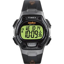 Timex Men's T53151 Ironman Traditional 30-Lap Black/Grey Watch