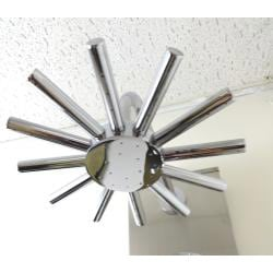 Kokols 20-jet Stainless Steel Massage Shower Panel and Rain Showerhead