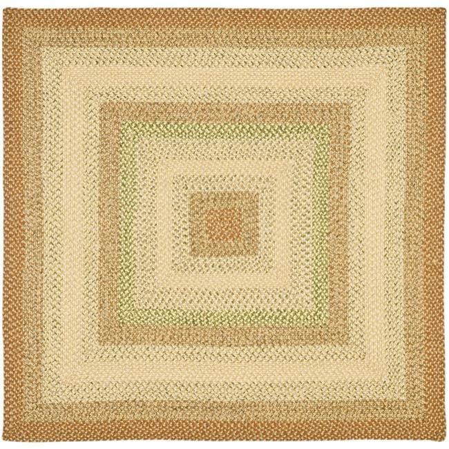 Indoor Outdoor Rugs Square: Safavieh Handwoven Indoor/Outdoor Reversible Multicolor