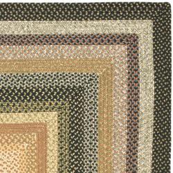 Hand-woven Indoor/Outdoor Reversible Multicolor Braided Rug (3' x 5')