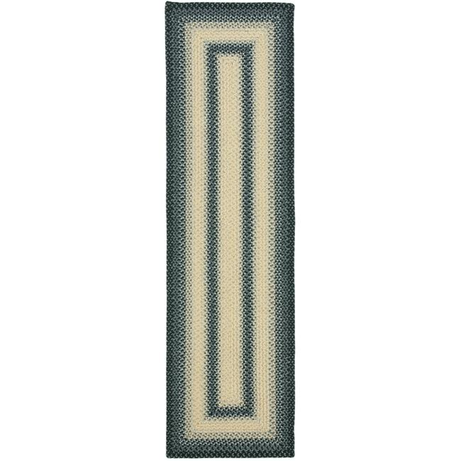 Safavieh Hand-woven Reversible Multicolor Braided Rug (2'3 x 12')