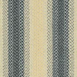 Hand-woven Reversible Multicolor Braided Rug (6' x 9')