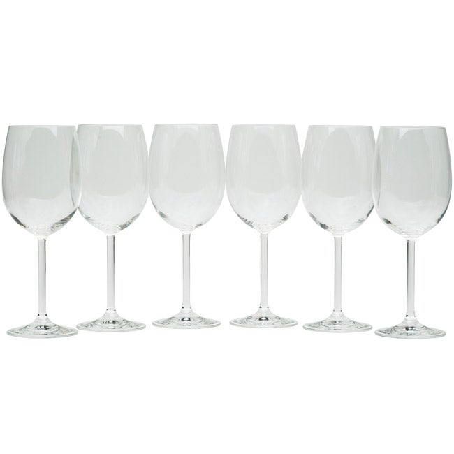 Red Vanilla Sonoma Valley All-purpose Glasses (Pack of 6)