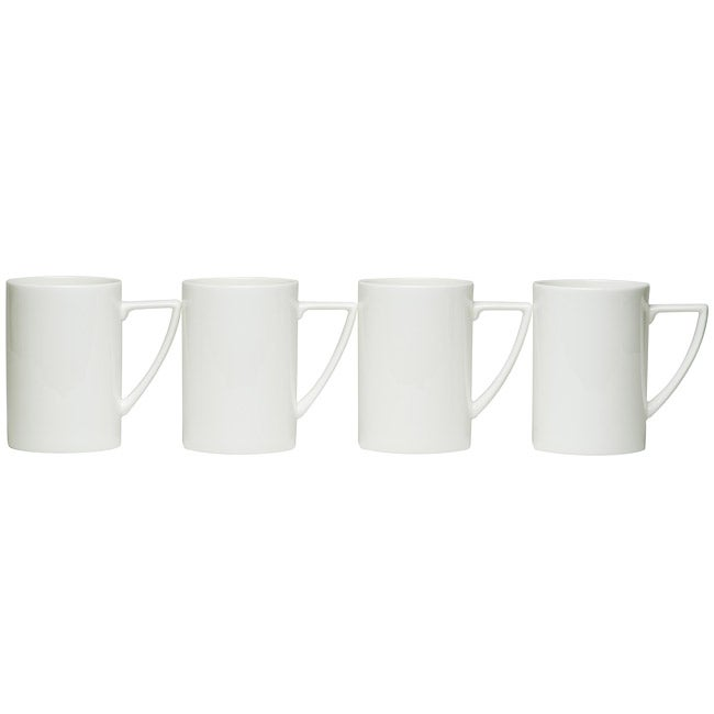 Red Vanilla Extreme White Mugs (Set of 4)