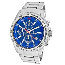 Le Chateau Men's Sport Dinamica All Steel Chronograph Watch