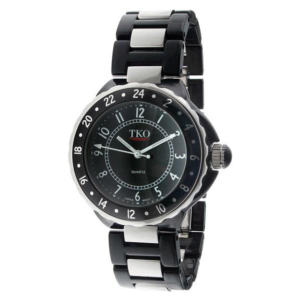TKO Orlogi Women's Acrylic Case Bracelet Watch