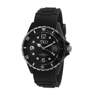TKO Orlogi Women's Venezia II Black Polycarbonate Watch
