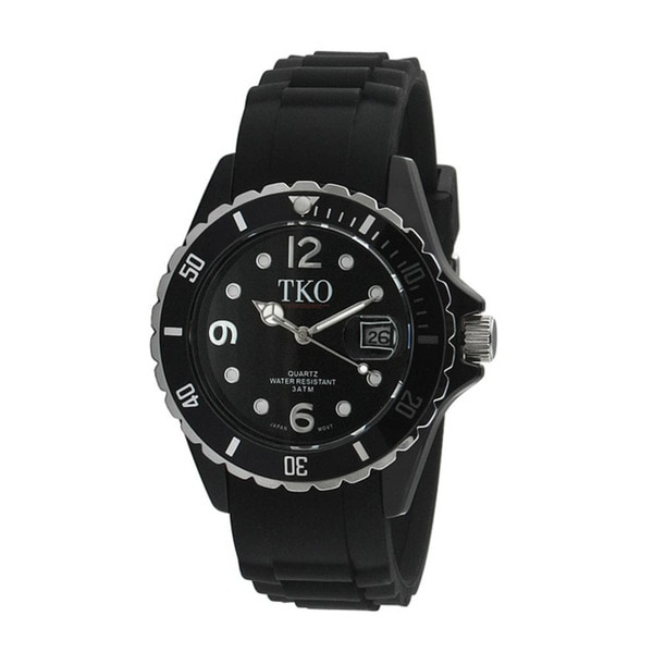 TKO Orlogi Women's Venezia II Black Polycarbonate Watch