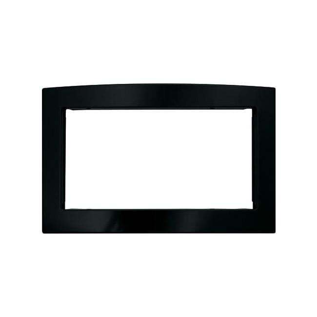 GE JX2027DMBB Black 27-inch Deluxe Built-in Microwave Trim Kit
