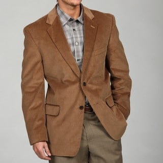 Adolfo Men's Tan Corduroy Sport Coat