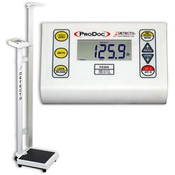Detecto PD300DHR Professional Doctor's Scale with Height Rod