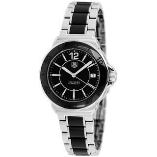 Tag Heuer Women's WAH1210.BA0859 Formula 1 Stainless Steel Black Dial Watch