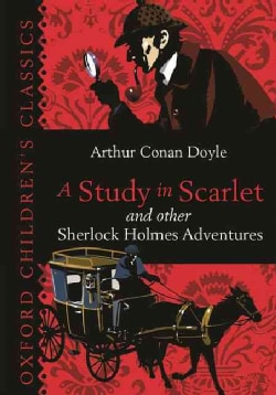 A Study in Scarlet and Other Sherlock Holmes Adventures (Hardcover)