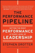 The Performance Pipeline: Getting the Right Performance at Every Level of Leadership (Hardcover)