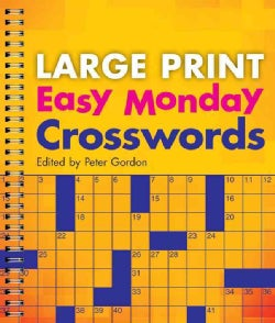 Easy Monday Crosswords (Paperback)