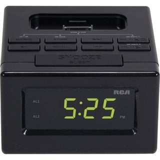 RCA RC130I Desktop Clock Radio - Apple Dock Interface