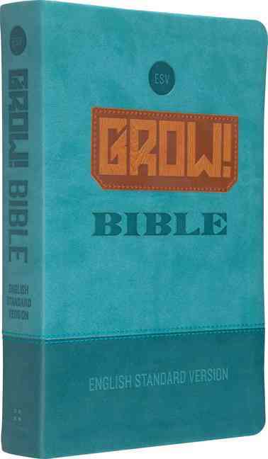 Grow! Bible: English Standard Version, Blue, Trutone (Paperback)