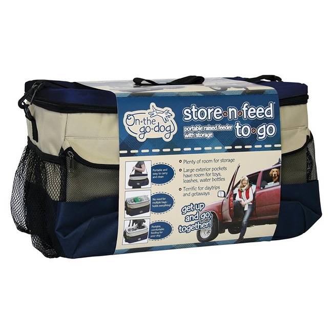 Store-N-Feed To Go Pet Accessory