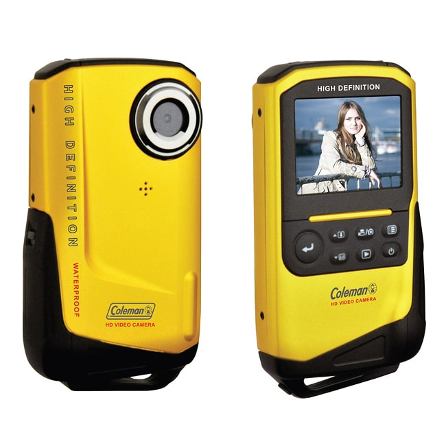 Coleman Xtreme 1080p HD Waterproof Yellow Digital Camcorder