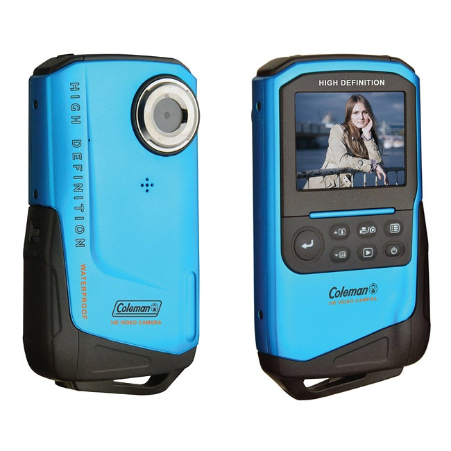 Coleman Xtreme 1080p HD Waterproof Blue Digital Camcorder