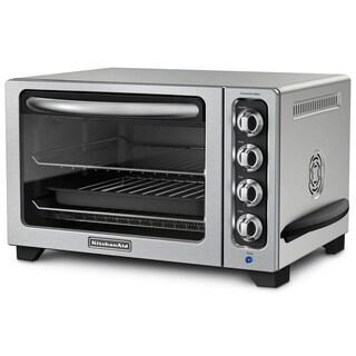 KitchenAid KCO223CU Contour Silver 12-inch Convection Bake Countertop Oven