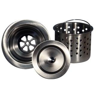 Highpoint Collection Kitchen Sink Stainless Steel Colander Basket Strainer