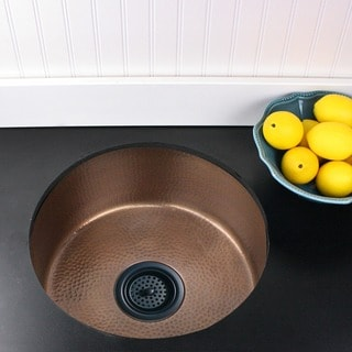 Highpoint Collection Copper Light Finish Island Prep Sink