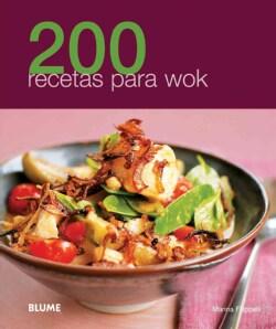 200 recetas para wok / 200 Wok Recipes (Paperback)
