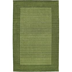 Regency Celery Wool Rug (5' x 7'9)