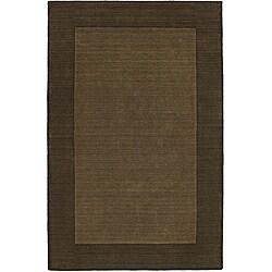 Regency Chocolate Wool Rug (8' x 10')