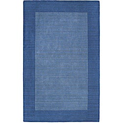 Regency Glacier Blue Wool Rug (8' x 10')