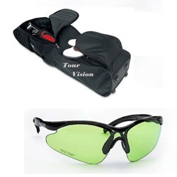Tour Vision Travel Bag Signature Series Sunglasses Combo