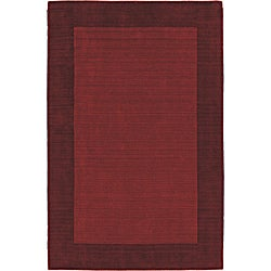 Regency Red Wool Rug (8' x 10')